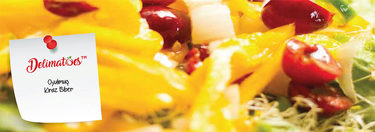 Kiraz Biber Salata Tarifi