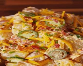 Jalapeño Biber Kızartması ve Patates Salatası