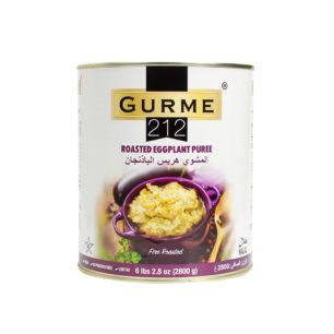 Gurme212 Köz Patlıcan Ezmesi A10 Teneke