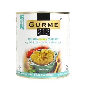 Gurme212 Közlenmiş Patlıcan – Herselik (İri Kesim) A10 Tin