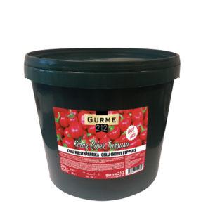 Gurme212 Kiraz Biber Turşusu 15kg Kova