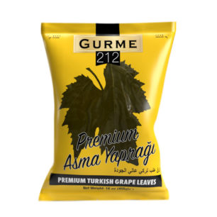 Gurme212 Premium Asma Yaprağı 455g Poşet