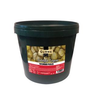 Gurme212 Salatalık Turşusu 18kg Kova