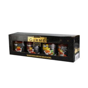 Gurme212 Dip Sos Seti 4x255cc Kavanoz
