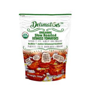 Delimatoes Organik Yarı Kurutulmuş Kırmızı Domates 1000g Doypack