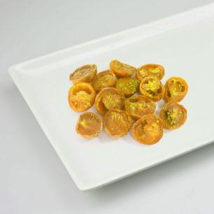 IQF Yarı Kurutulmuş Sarı Kiraz Domates – Yarım Kesim 10kg Koli