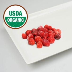 Organik IQF Çilek 10kg Koli