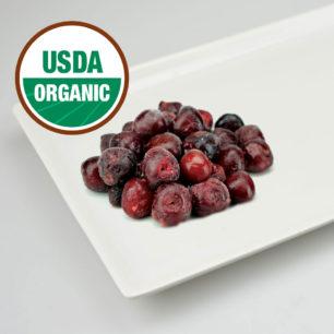 Organik IQF Çekirdeksiz Tatlı Kiraz 10kg Koli