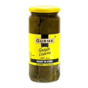 Gurme212 Grape Leaves 500cc Jar