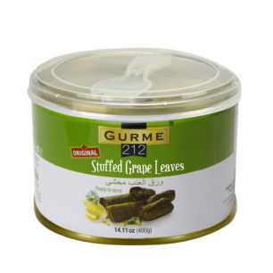 Gurme212 Stuffed Grape Leaves – Original 400g Tin