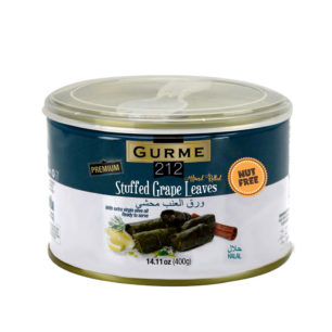 Gurme212 Stuffed Grape Leaves – Premium 400g Tin
