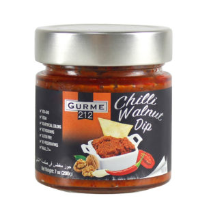 Gurme212 Chili Walnut Dip 255cc Jar