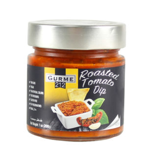 Gurme212 Roasted Tomato Dip 255cc Jar