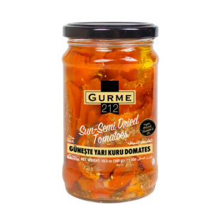 Gurme212 Sun Semi Dried Tomatoes 320cc Jar