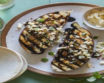 Greek Grilled Eggplant