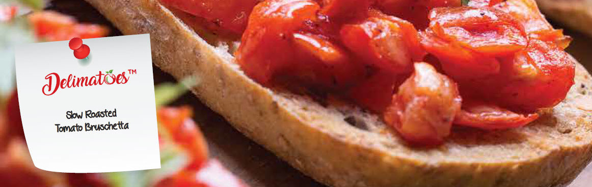 Slow Roasted Tomato Bruschetta Cookbook