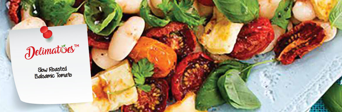 Slow Roasted Balsamic Tomato Salad Cookbook