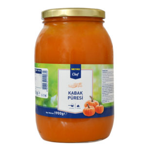 Private Label Metro Pumpkin Puree 2000cc Jar