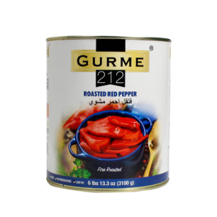 Gurme212 Roasted Red Pepper A10 Tin