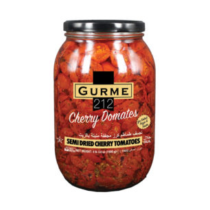 Gurme212 Semi Dried Cherry Tomatoes 2000cc Jar