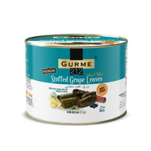 Gurme212 Premium Stuffed Grape Leaves 2000g Tin