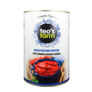Teos Farm Roasted Red Pepper A12 Tin
