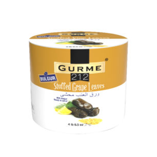 Gurme212 Bulgur Stuffed Grape Leaves 2000g Tin
