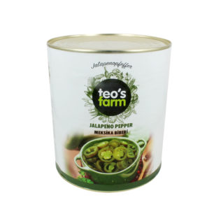 Teos Farm Green Jalapeno pepper A10 Tin