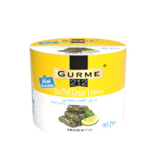 Gurme212 Mini Original Stuffed Grepe Leaves 2000g Tin