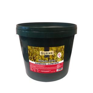 Gurme212 Green Jalapeno pepper 15kg Pail