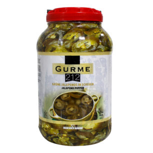 Gurme212 Green Jalapeno pepper 3800g Gallon Pet