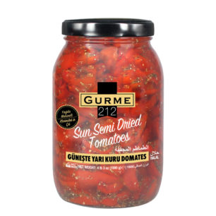 Gurme212 Sun Semi Dried Tomatoes 2000cc Jar