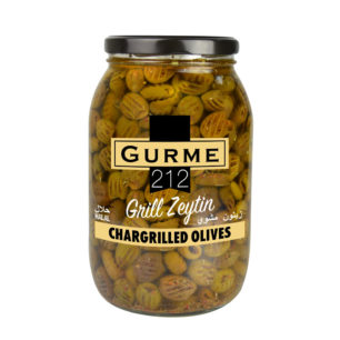 Gurme212 Chargrilled Olives 2000cc Jar