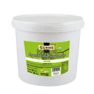 Gurme212 Organic Grape Leaves 18Kg Pail