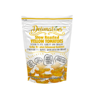 Delimatoes Slow Roasted Yellow Tomatoes 1000g Doypack