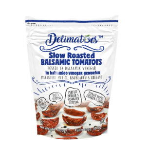 Delimatoes Slow Roasted Balsamic Tomatoes 1000g Doypack