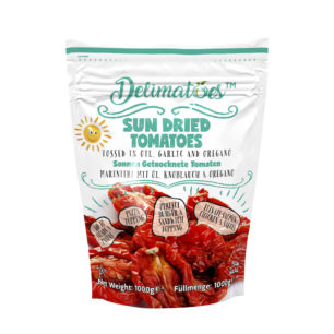 Delimatoes Sun Dried Tomatoes 1000g Doypack