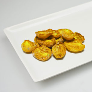 IQF Oven Semi Dried Yellow Tomato Halves 10kg Box