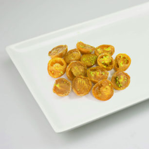 IQF Oven Semi Dried Yellow Cherry Tomato Halves 10kg Box