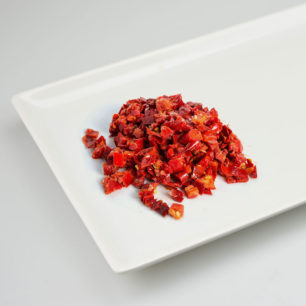 IQF Oven Semi Dried Peppers 10kg Box