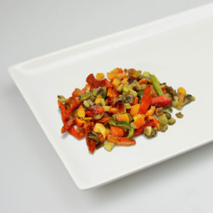 IQF Oven Semi Dried Mix Vegetable 10kg Box