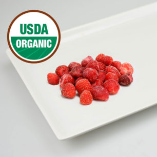 Organic IQF Strawberry 10kg Box