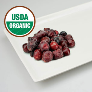 Organic IQF Pitted Sweet Cherry 10kg Box