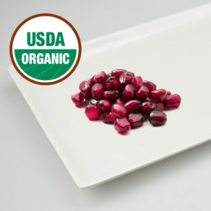 Organic IQF Pomegranate Arils 10kg Box